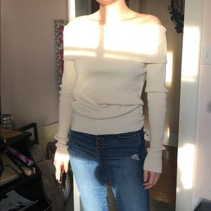 Marc Jacobs over the shoulder zip sweater